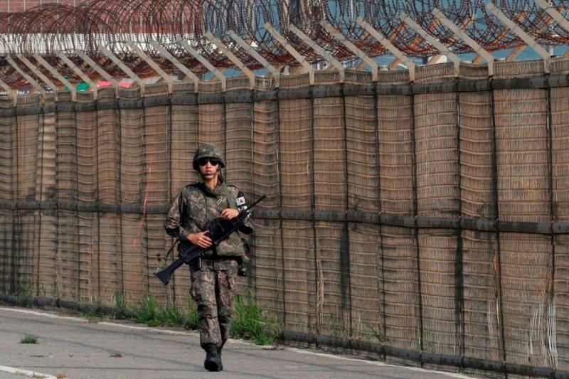 南韓士兵(美聯社)