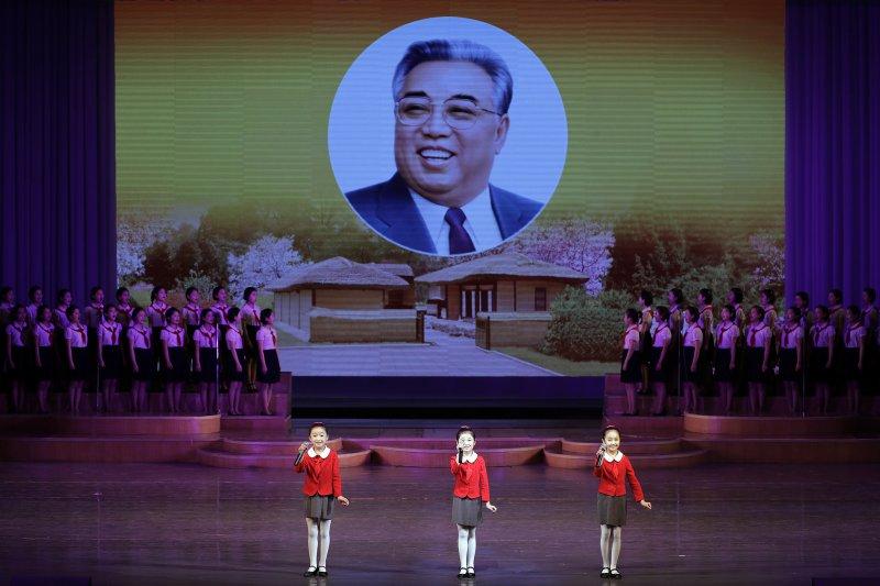 北韓慶祝創建者金日成105歲冥誕(資料照,AP)
