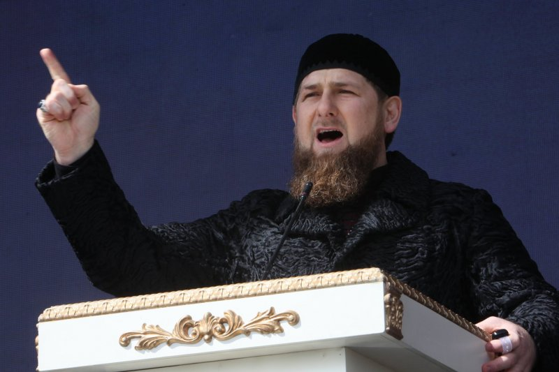 車臣共和國總統卡德洛夫(Razman Kadyrov)(美聯社)