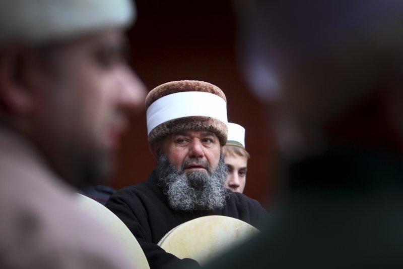 車臣共和國信仰伊斯蘭教,大說數人民極為保守。(美聯社)