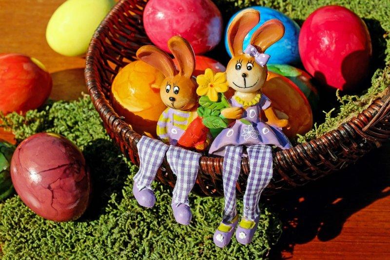 今年的復活節在4月16日登場(取自Pixabay)