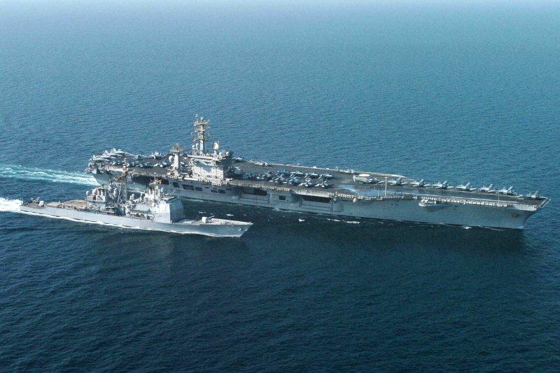 尼米茲號核動力航空母艦。(美國海軍官網)