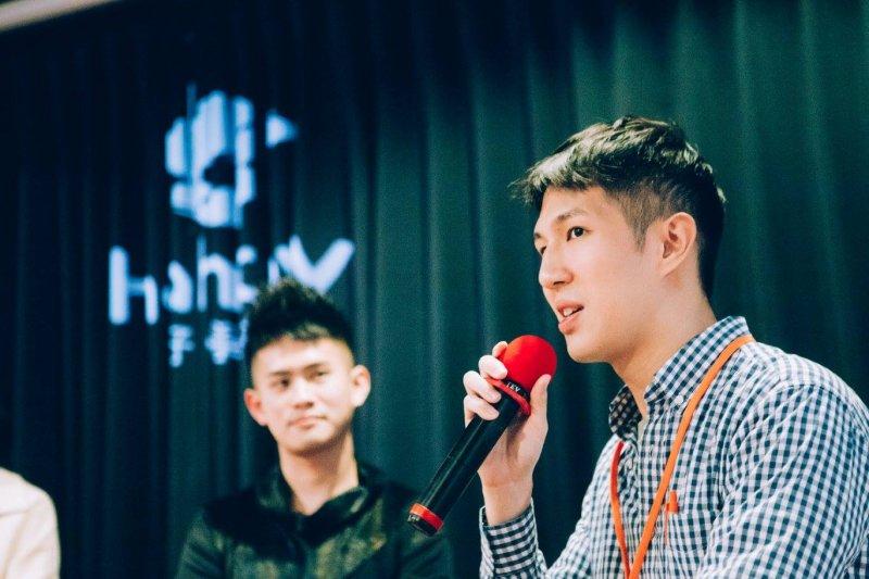 從思考突破的可能看到台灣線上課程的市場機會,阿諾成立了全球第一個募資結合線上課程的平台。(圖/擷取自Hahow好學校臉書官網)