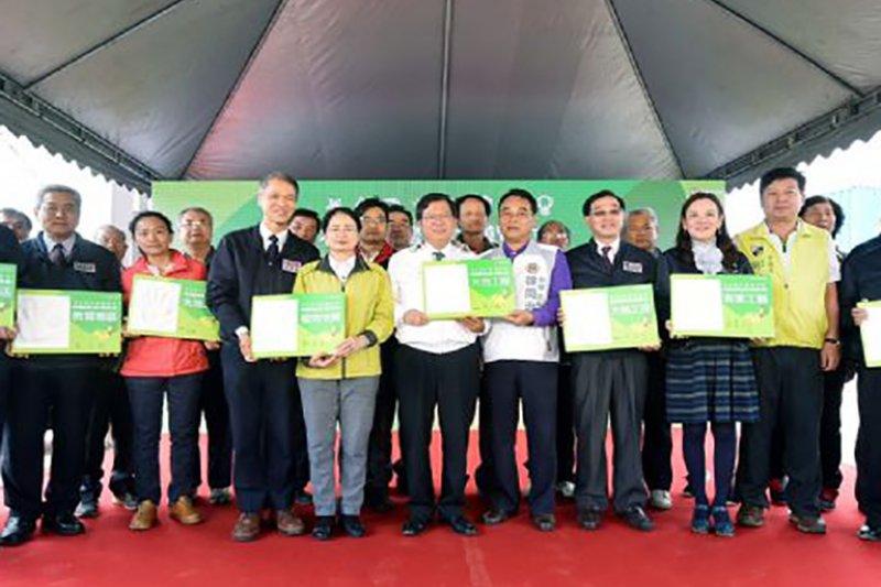 將在4月22日正式開幕的桃園農業博覽會,鄭文燦市長:兩年可吸引200萬人次參與。(圖/桃園市政府提供)