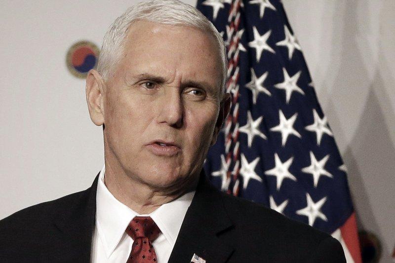 美國副總統彭斯放狠話,表示美國對北韓容忍的時代已經結束(AP)