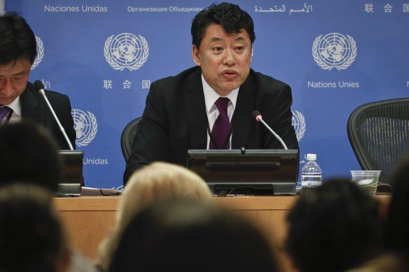 北韓駐聯合國副代表痛批美國以流氓態度擾亂世界和平(AP)