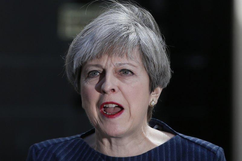 英國的地方選舉4日開始投票,這將是首相梅伊面臨的首次全國性選舉考驗(AP)
