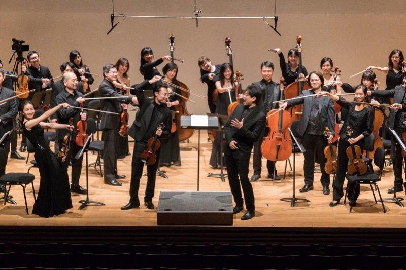 灣聲樂團,用西方古典的翅膀飛起台灣音樂的天空。(取自灣聲樂團臉書)