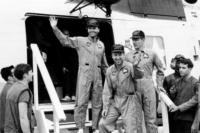 1970年4月17日,「阿波羅13號」(Appolo 13)的三名太空人成功返家,他們的故事在1995年被拍成電影,現在由《控制中心:阿波羅計畫的無名英雄》(Mission Control: The Unsung Heroes of Apollo,暫譯)向大眾訴說在地面上發生的故事。(AP)