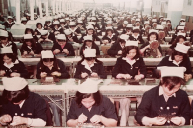 吃苦耐勞的女工是打造台灣經濟奇蹟的動力(圖:民報/經濟部/想想論壇提供)