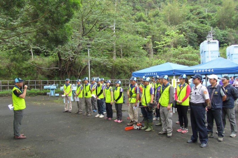 減災、整備、應變,嘉義林區管理處漂流木災害防救體系一次到位。(圖/嘉義林管處提供)