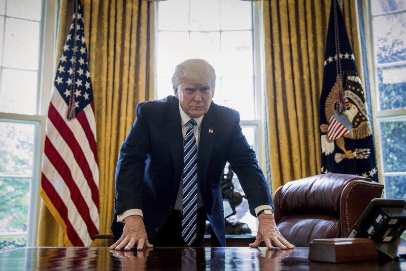 美國總統川普「百日維新」成績單並不理想(美聯社)