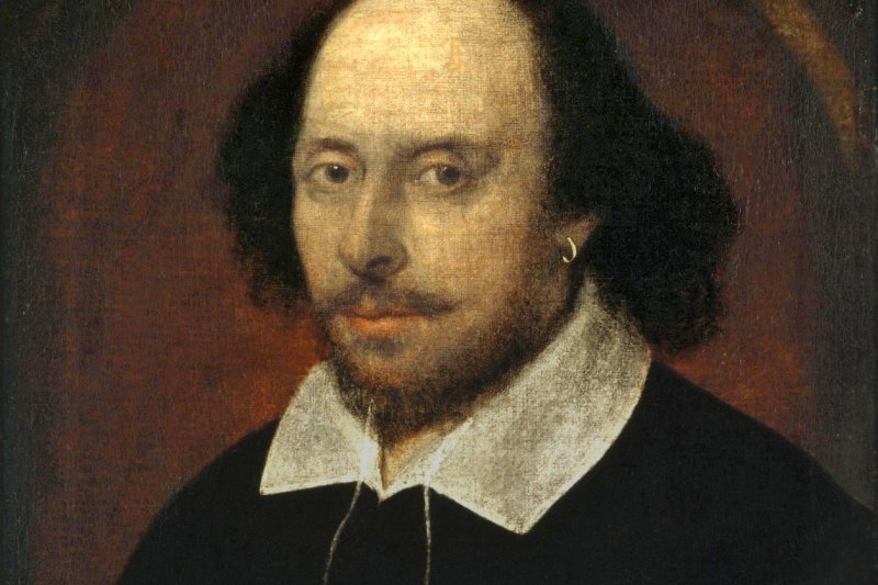 莎士比亞肖像(Wikipedia/Public Domain)