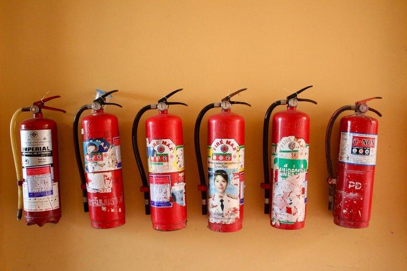 國內並沒有「高效能氣體滅火器」認可的產品。(圖/3dman_eu@pixabay)