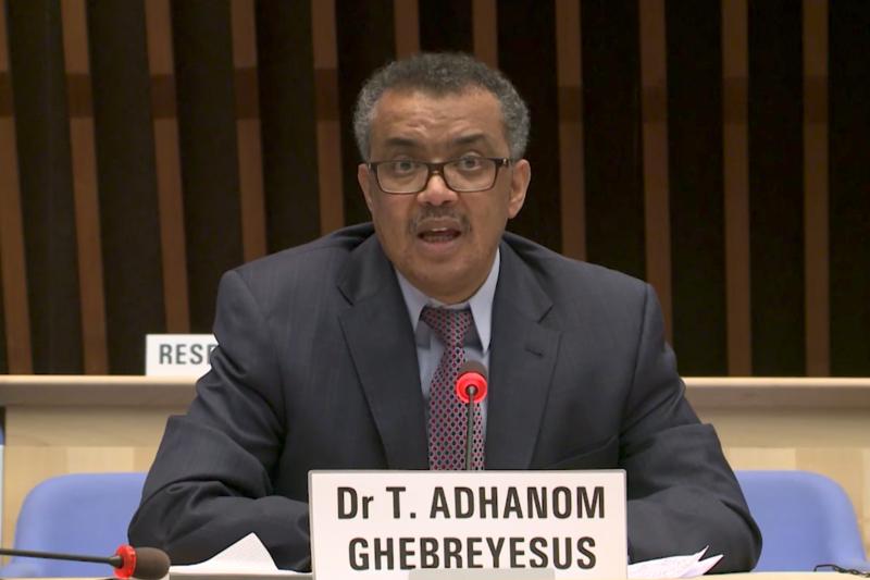 20170425-2017WHO總幹事候選人,來自衣索比亞的Tedros Adhanom Ghebreyesus。(WHO提供)