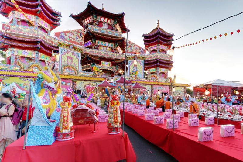 Google近日將台灣五大民俗節慶街景等共計150個全新特蒐景點正式上線,讓所有用戶都能一窺台灣美景(圖/翻攝自google街景)