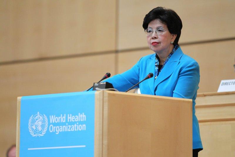 20170425-世界衛生組織(WHO)總幹事陳馮富珍(WHO提供)