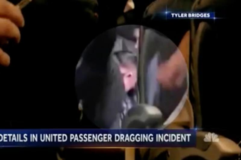 聯合乘客杜成德遭到航警暴行的最新畫面曝光。
