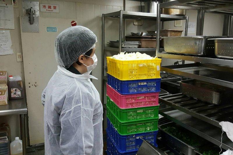 台北市衛生局查核32家便當業者,14家衛生初查合格。(資料照,台北市衛生局)