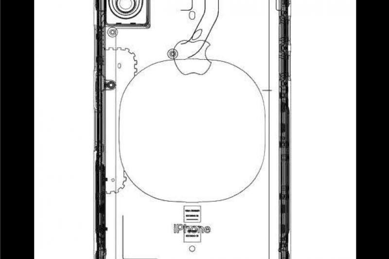 據傳是蘋果iPhone 8的設計草圖(取自推特)
