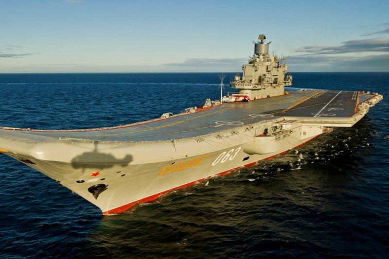 俄羅斯「庫茲涅佐夫號」航空母艦(Mil.ru@Wikipedia / CC BY 4.0)