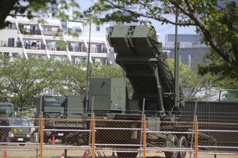 日本東京防衛省,愛國者飛彈防禦系統(AP)