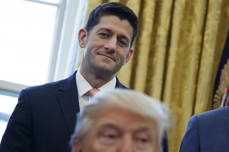 川普執政百日:聯邦眾議院議長萊恩是第2大輸家(AP)