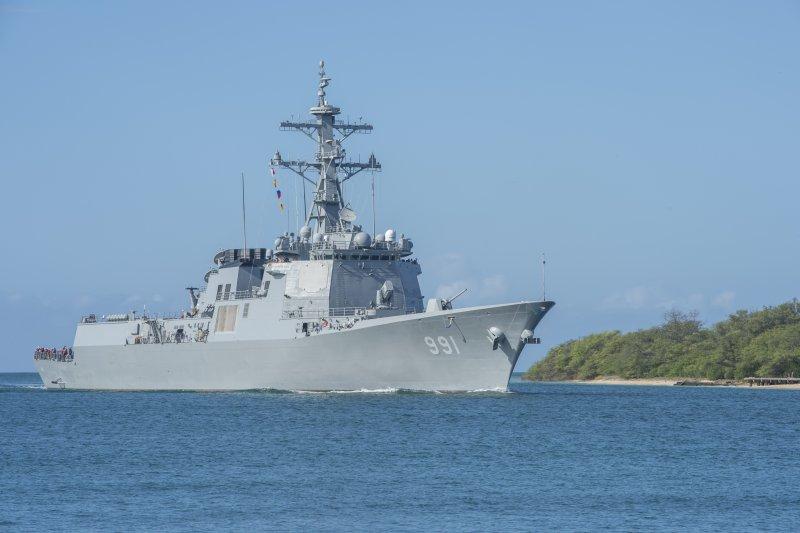 南韓神盾艦世宗大王號(DDG-991)。(美國海軍)