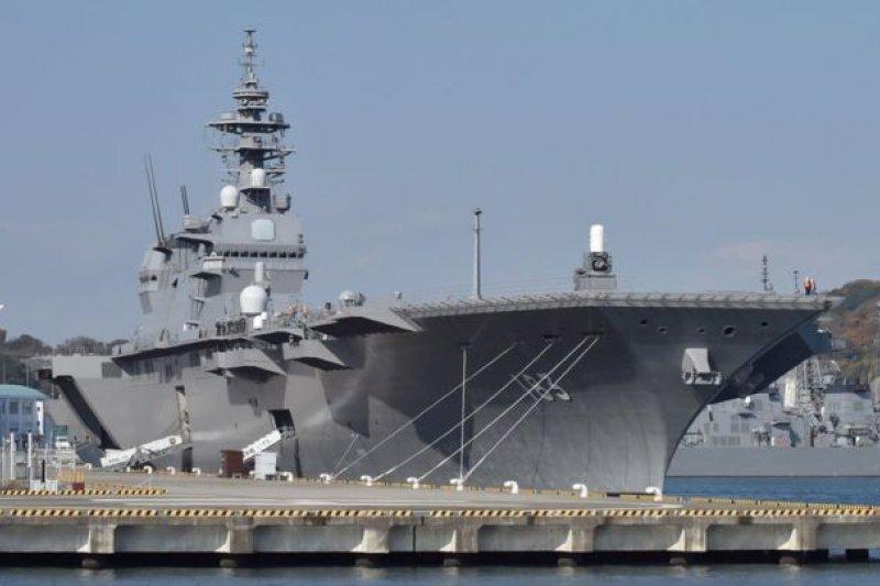 出雲號是第二次世界大戰後,日本國產最大型海上自衛隊護衛艦。(BBC中文網)