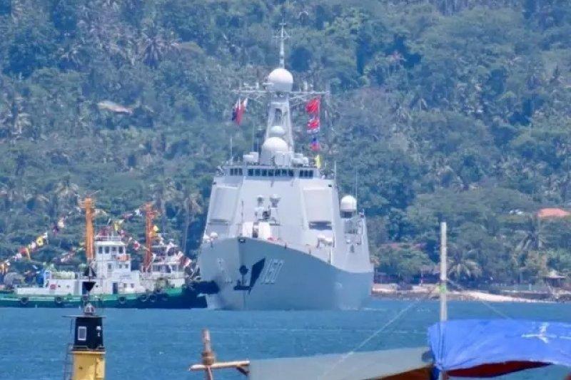 中國海軍長春艦。