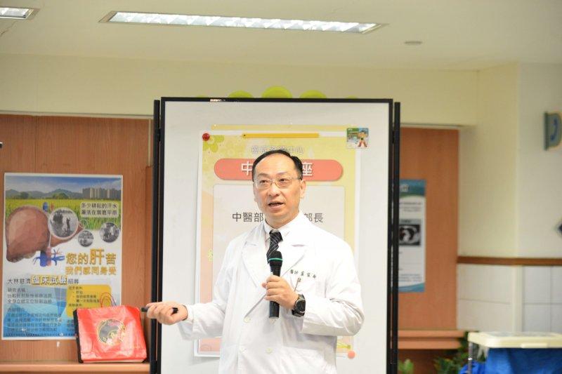 大林慈濟醫院癌症病友抗癌,可以中西醫合併治療協助抗癌。(圖/大林慈濟醫院提供)