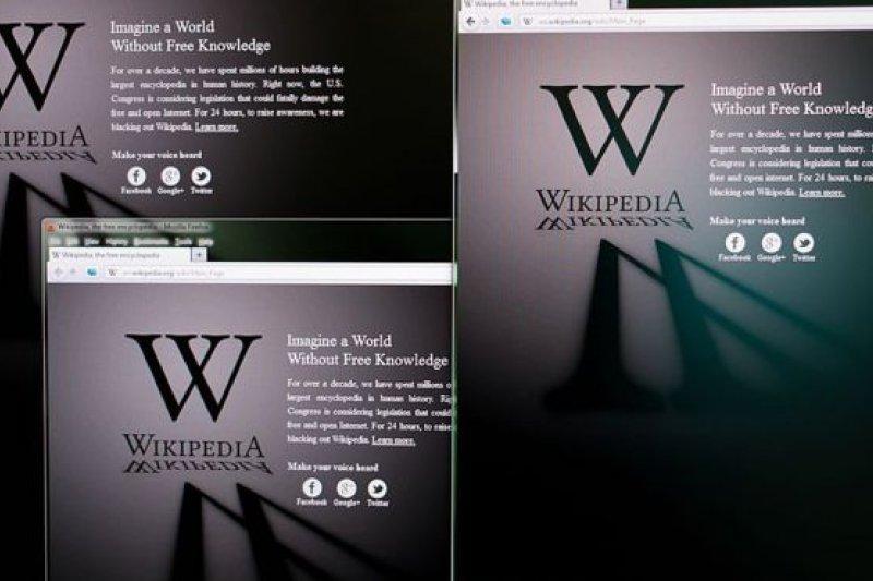 中國可以查閲維基百科,但有一些內容被屏蔽。(BBC中文網)