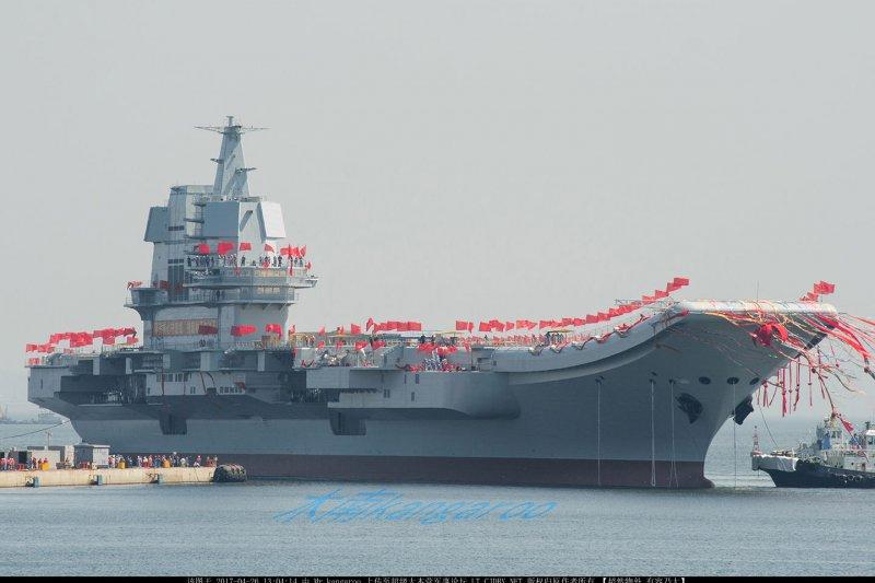 中國首艘國產航母。