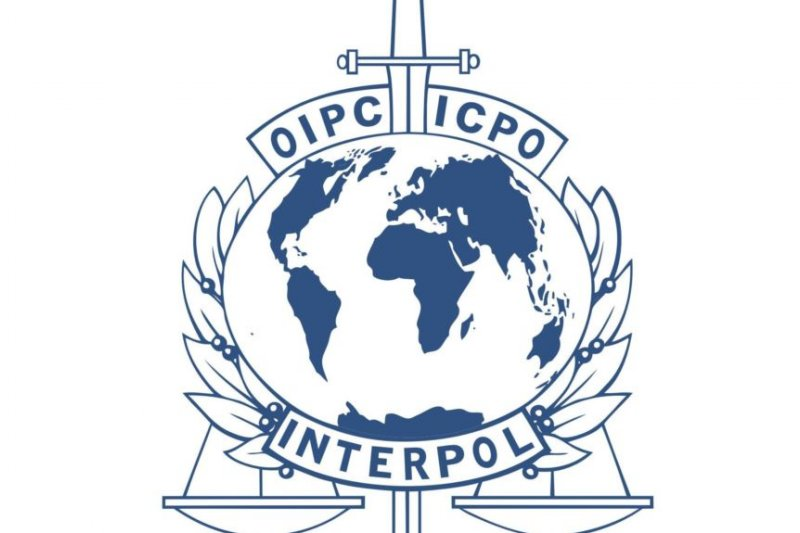 國際刑警組織標徽。