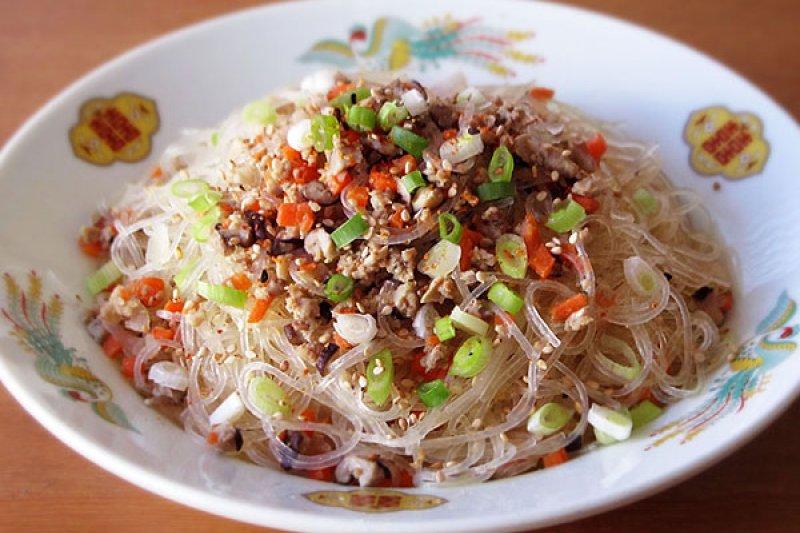 香噴噴的螞蟻上樹上桌,配幾碗飯都吃不膩啊!(圖/台灣好食部落格提供)