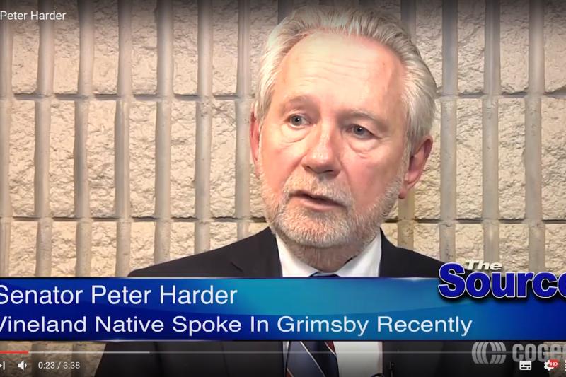 加拿大參議院政府代表哈德(Peter Harder)(YouTube)