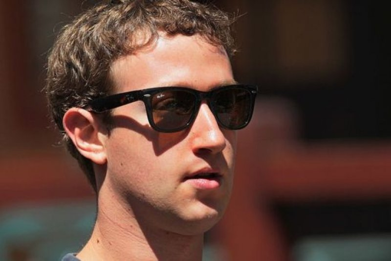 臉書(Facebook)的創辦人祖克柏。(BBC中文網)