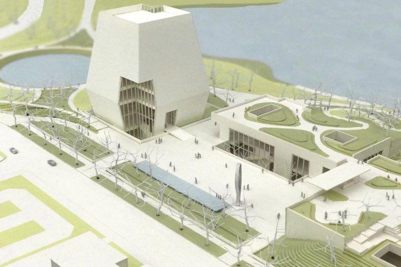 「歐巴馬總統中心」(Barack Obama Presidential Center)設計圖公布,其核心就是歐巴馬總統圖書館(www.obama.org)