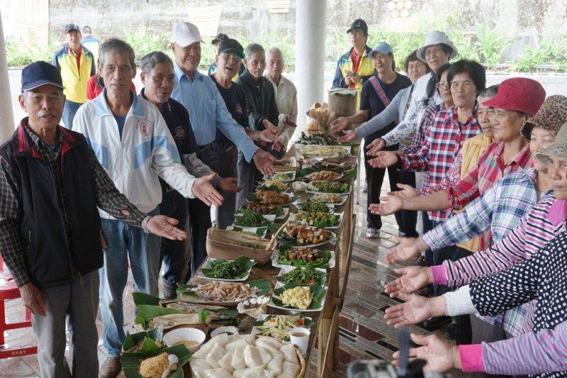 「遊在地,食道地」,享用在地、原味、安全的農村美食。(圖/水土保持局提供)