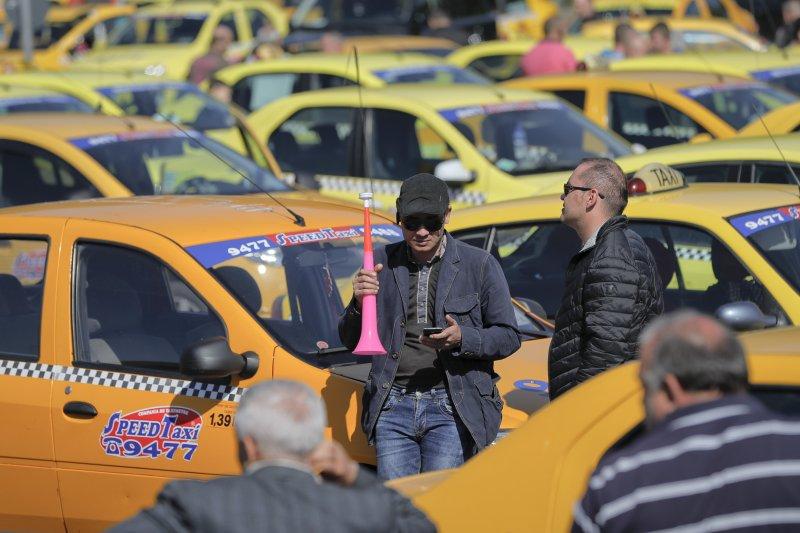 Uber在全球都因違法引起爭議、甚至法律訴訟。(美聯社)