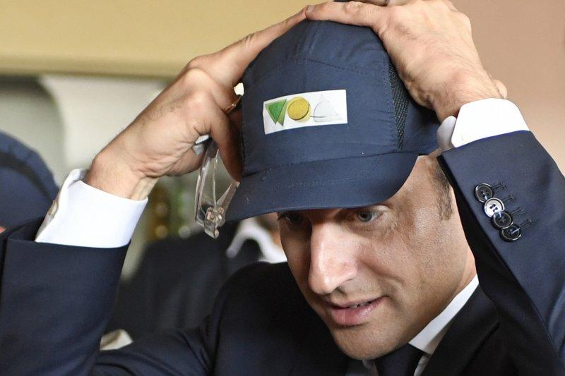 法國總統候選人馬克宏有望成為法國史上最年輕總統(AP)