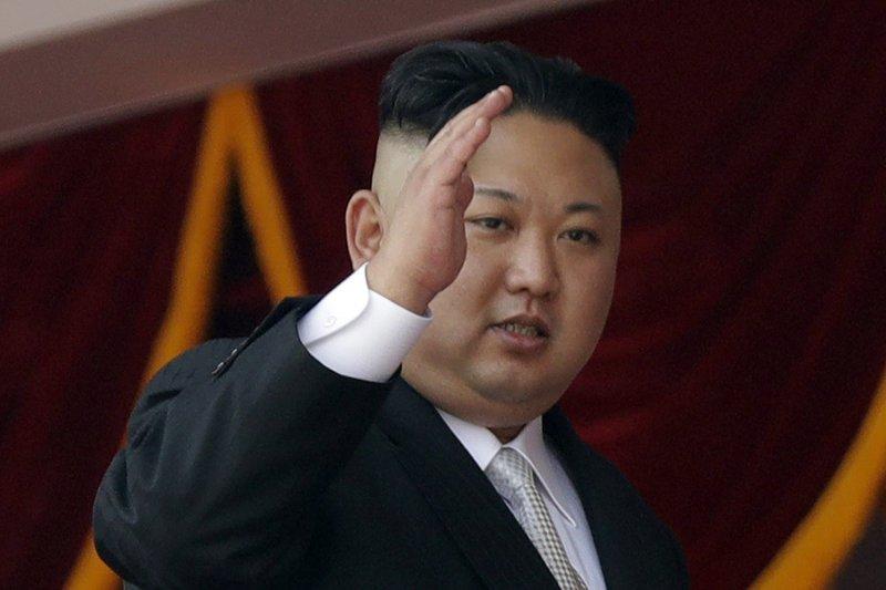 北韓領導人金正恩。(美聯社)