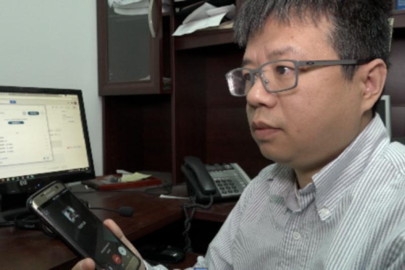 中國勞工觀察執行主任李強(美國之音)