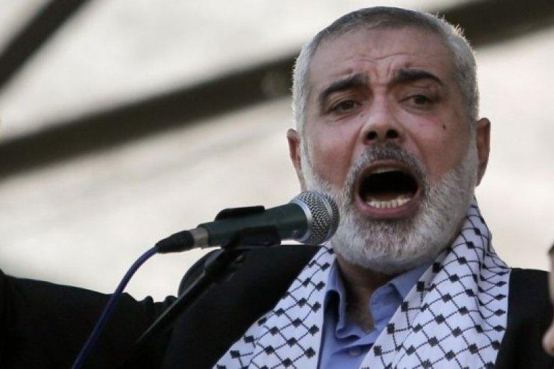 巴勒斯坦激進組織「哈瑪斯」領袖哈尼葉(AP)