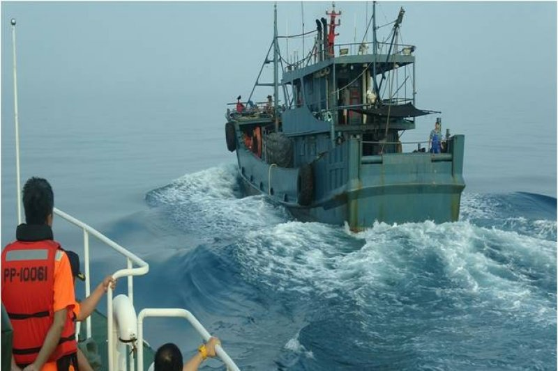 中國伏季休漁期間,漁船經闖入澎湖海域(資料照.海巡署)