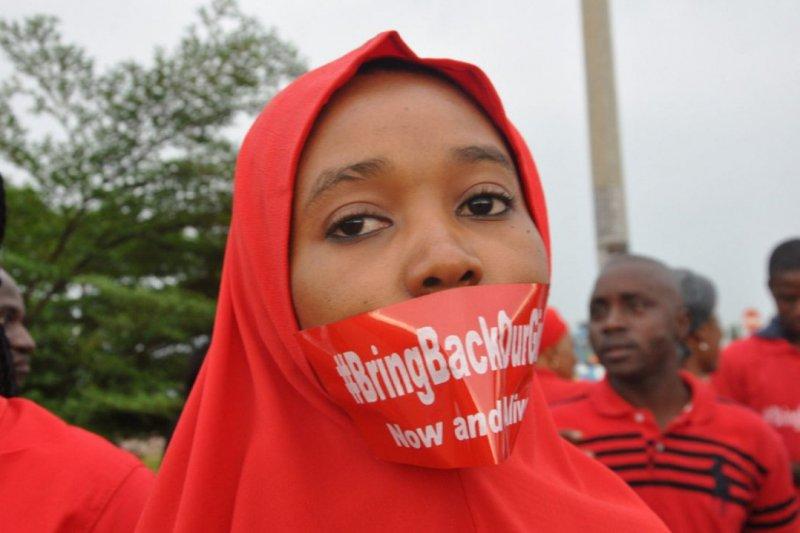 奈及利亞的276名「奇波克女孩」被博科哈蘭擄走已過了3年多,政府經過第一次談判後於6日再傳捷報,博科哈蘭釋放82名女孩。(AP)