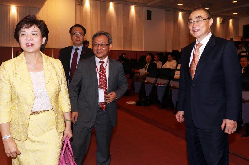 20170507-國防部長馮世寬上午出席「2017淡江戰略學派年會」。(蘇仲泓攝)