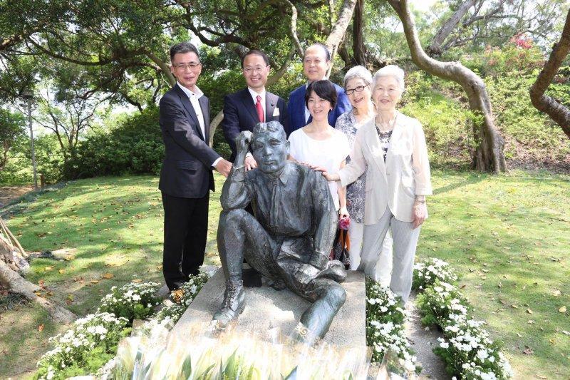 賴清德表示,希望未來,八田與一的銅像不再遭到破壞,大家共同珍惜,台日感情也更加穏固。(取自賴清德臉書)