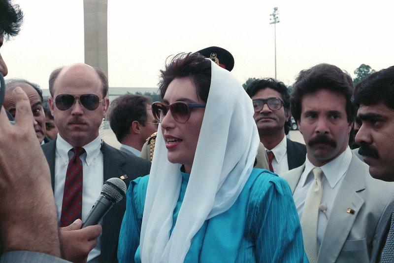 巴基斯坦總理班娜姬・布托。