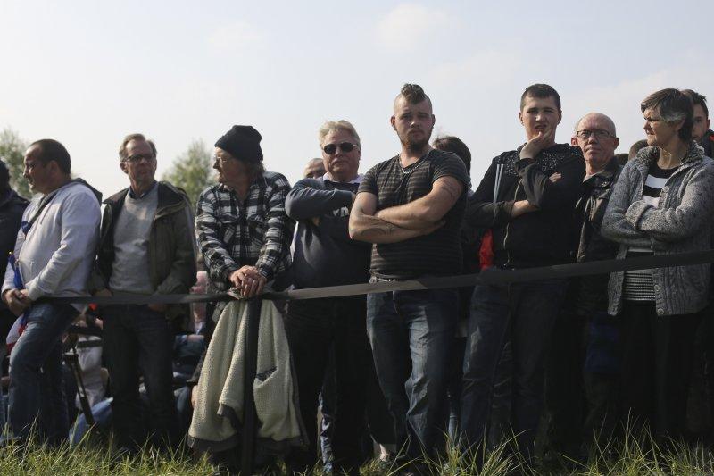 法國極右派政黨「民族陣線」(FN)總統候選人勒潘(Marine Le Pen)在鄉村地區頗受歡迎(AP)